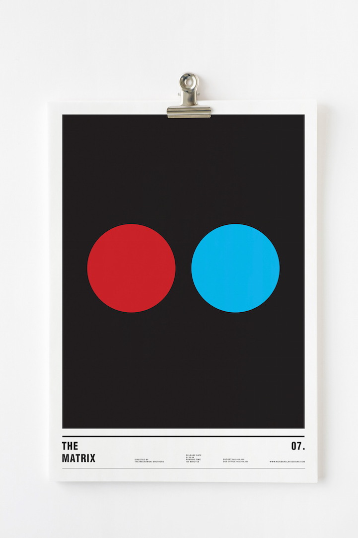 Nick Barclay_Minimalist Movie Posters_1