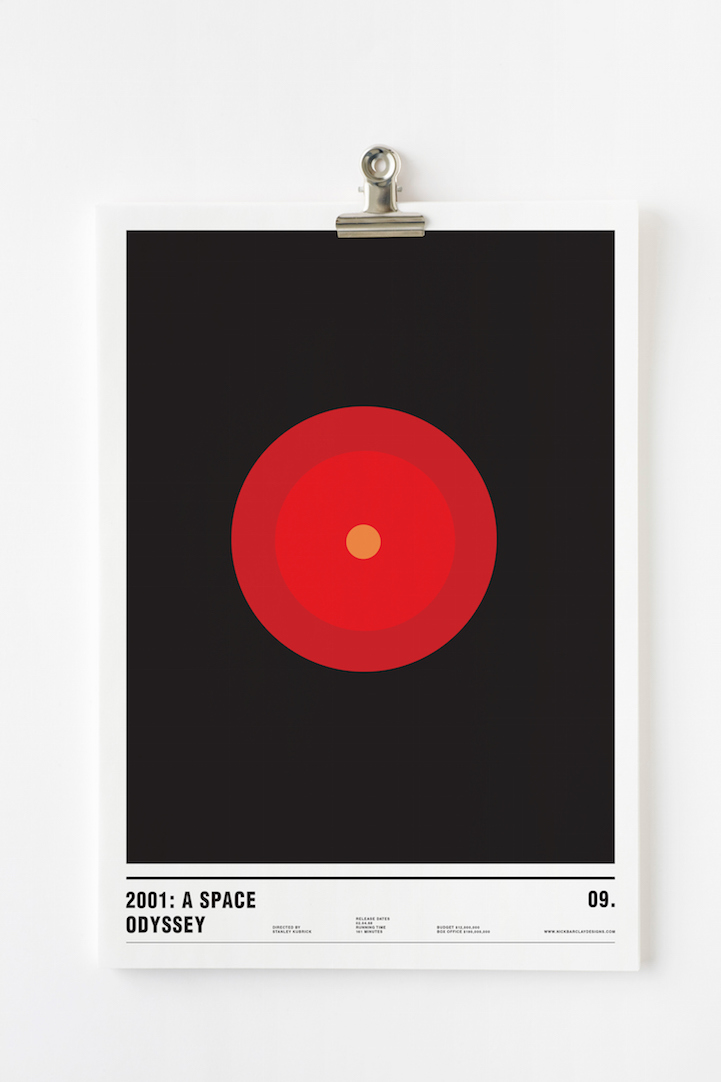 Nick Barclay_Minimalist Movie Posters_14