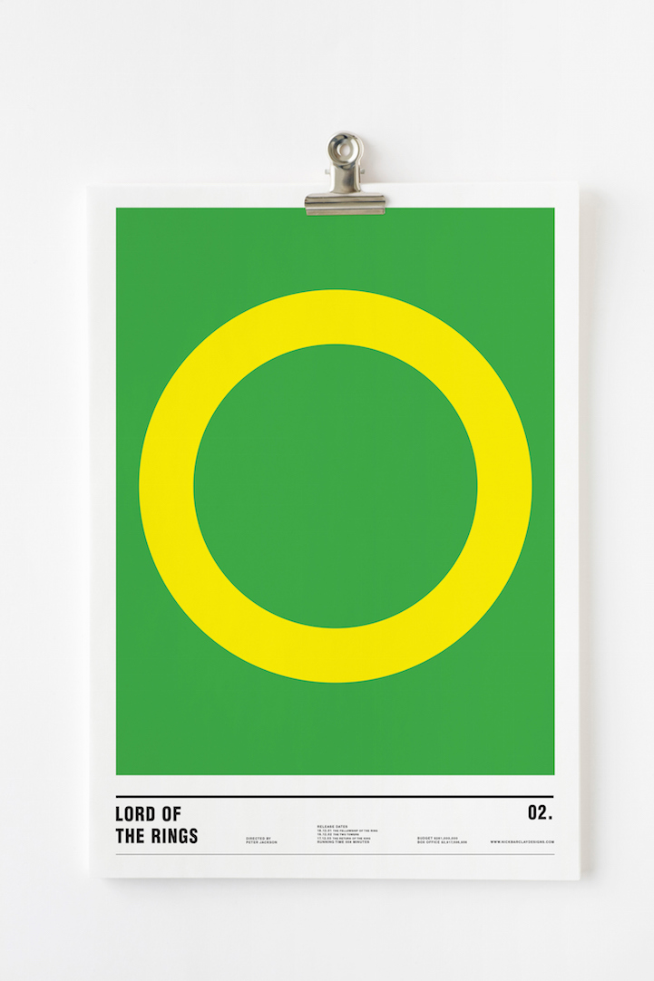 Nick Barclay_Minimalist Movie Posters_2