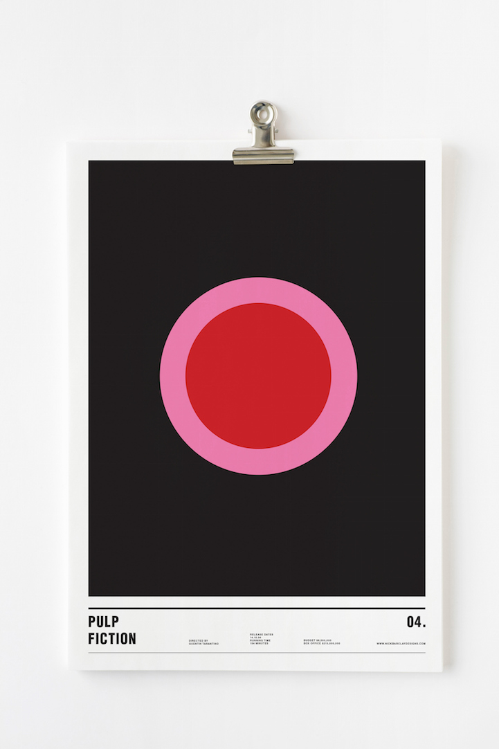 Nick Barclay_Minimalist Movie Posters_7