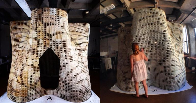 3D Printed_Bloom Pavilion_ Powdered Cement_UC_Berkley_2