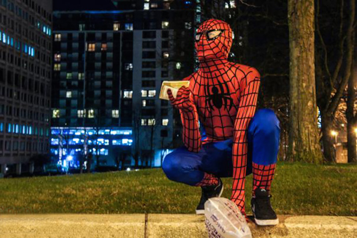 Anonymous_Spider-Man_Homeless_People_Birmingham_1
