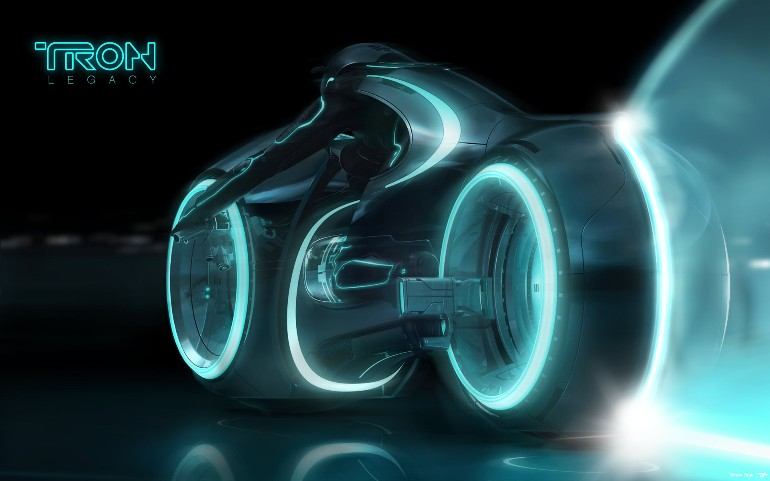 Tron Light Cycle Replica Goes To Auction-10