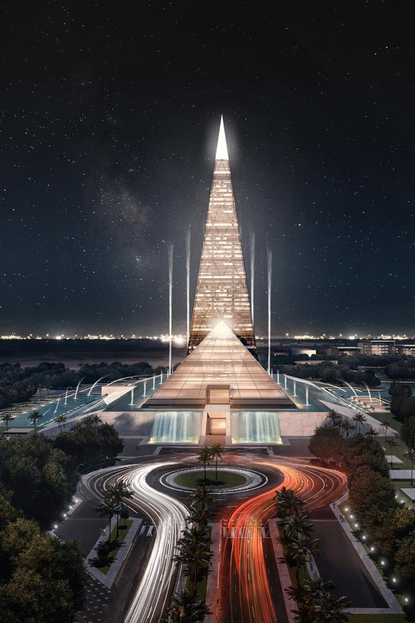 Zayed Crystal Spark Will Look Like New Pyramids