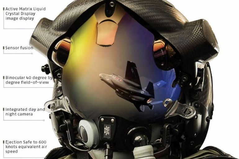 F-35 Gen III Helmet Mounted Display System-2