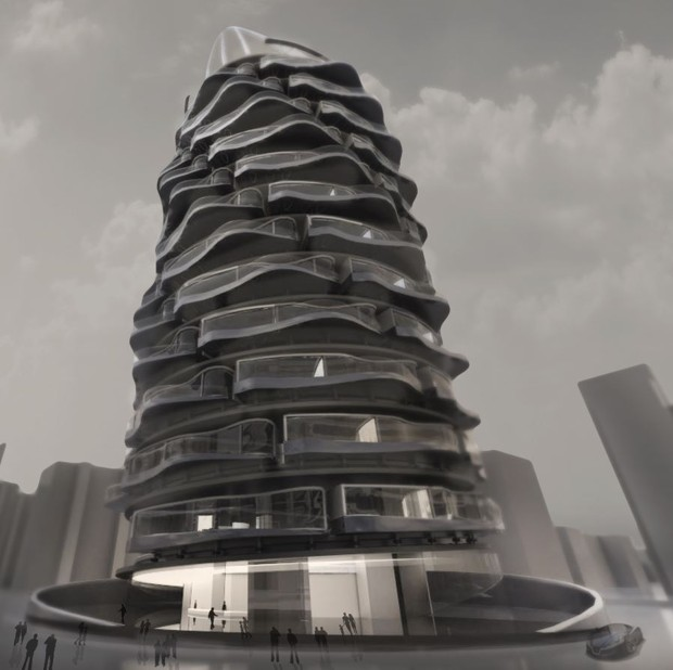 Turn to the Future Apartment_Rotating 360 Degrees Views_1