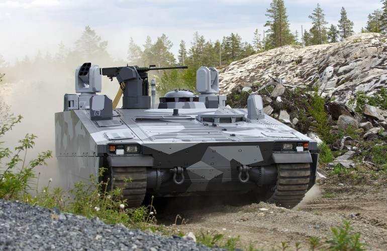 BAE Systems' CV90 Features F1 Racing Suspension-3