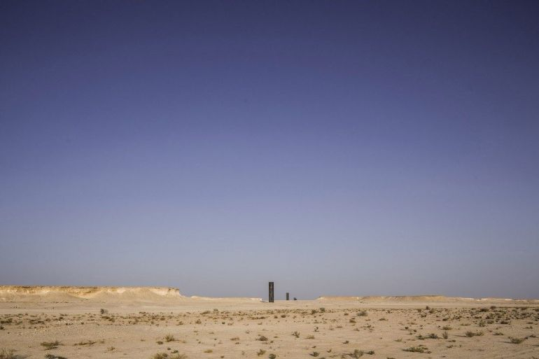East-West_West-East_Steel_Sculptures_Qatar_Richard_Serra_1