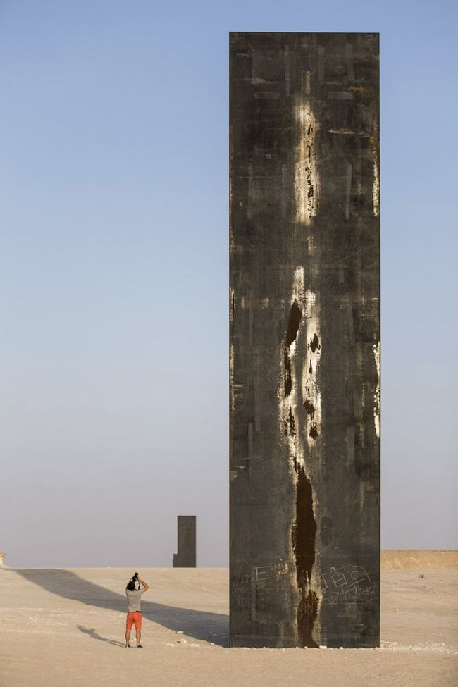 East-West_West-East_Steel_Sculptures_Qatar_Richard_Serra_2
