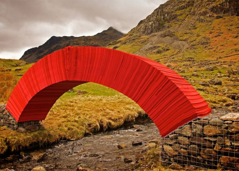 PaperBridge-by-Steve-Messam-1
