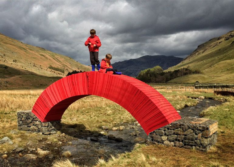 PaperBridge-by-Steve-Messam-4