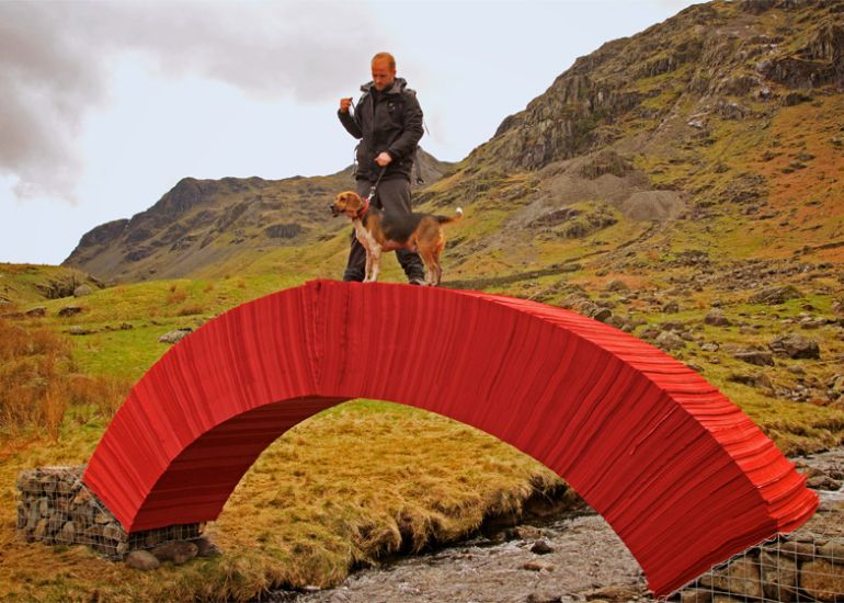 PaperBridge-by-Steve-Messam-7