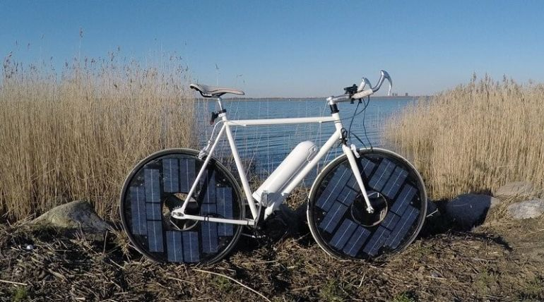 Engineer Jesper Frausig Designs The Innovative Solar Bike