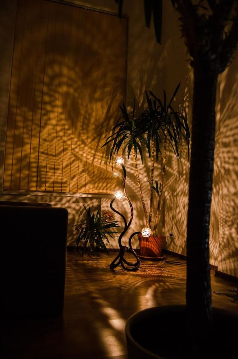Shadow Lamps Made From Ornate Coconut Shells Artist Vainius Kubilius Lamps