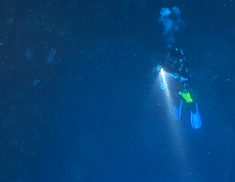 Divers Film Giant Squid Egg Mass, As Big As A Car, In Turkey-1