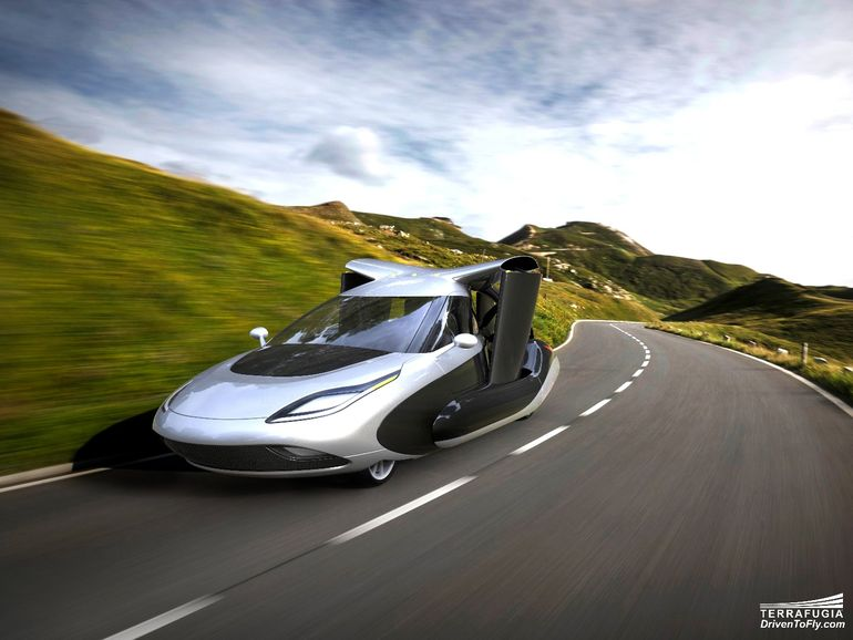 New Design For Terrafugia's TF-X Flying Car-4