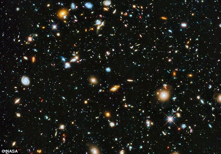 New Study Reveals A Universe With Far Fewer Galaxies-1