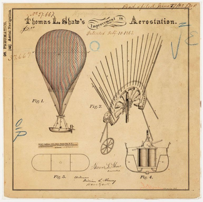 Patent Drawings of the Past-6