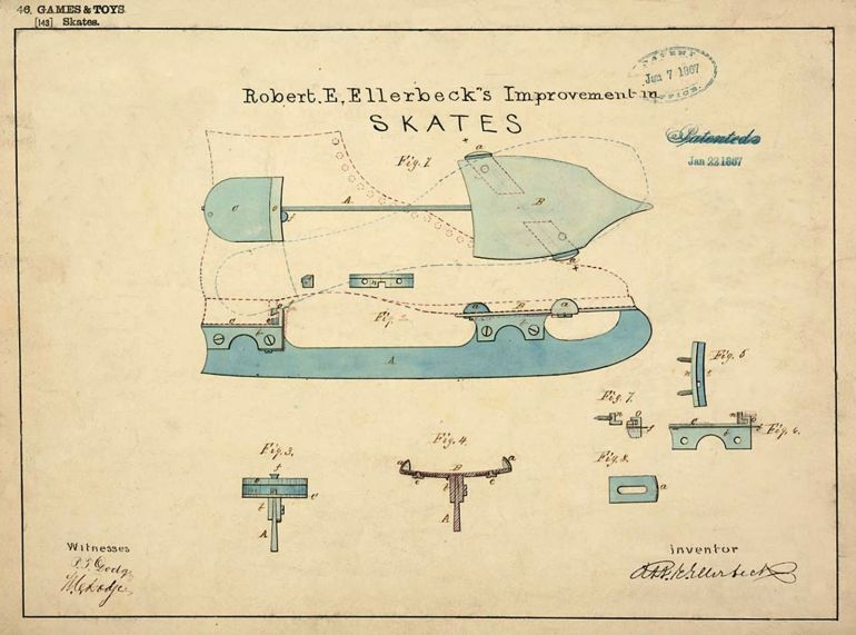 Patent Drawings of the Past-7