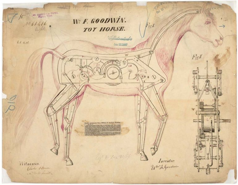 Patent Drawings of the Past-8