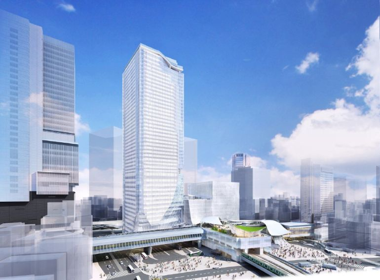 Plans for a new skyscraper in Tokyo's Shibuya district-4