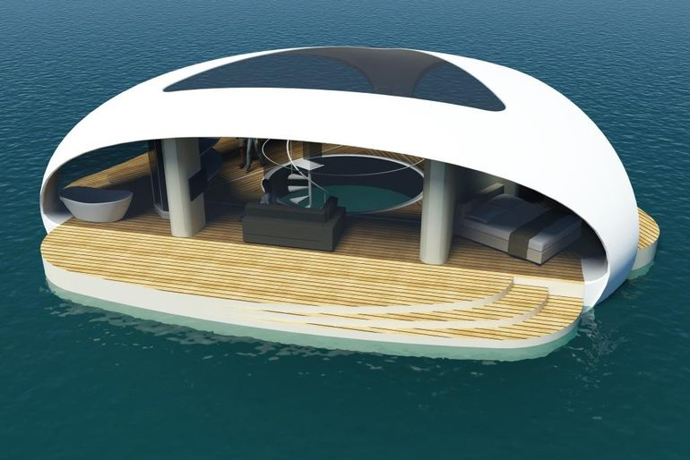 SeaScape Floating Villa-1