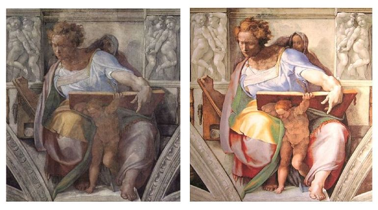 Surprising_Facts_Sistine Chapel_Restoration