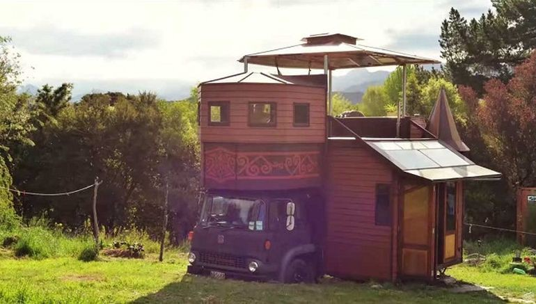 Tiny Home Designs: Transforming Castle Truck: The Whimsical Face Of Tiny Living
