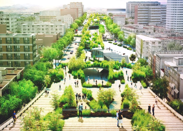 Architects To Jointly Create A Scenic Public Park In Mexico City-1