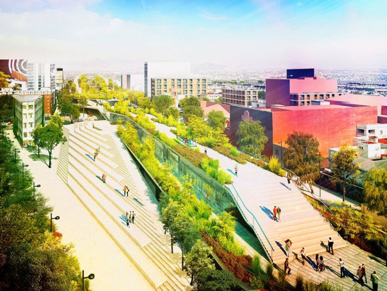 Architects To Jointly Create A Scenic Public Park In Mexico City-12