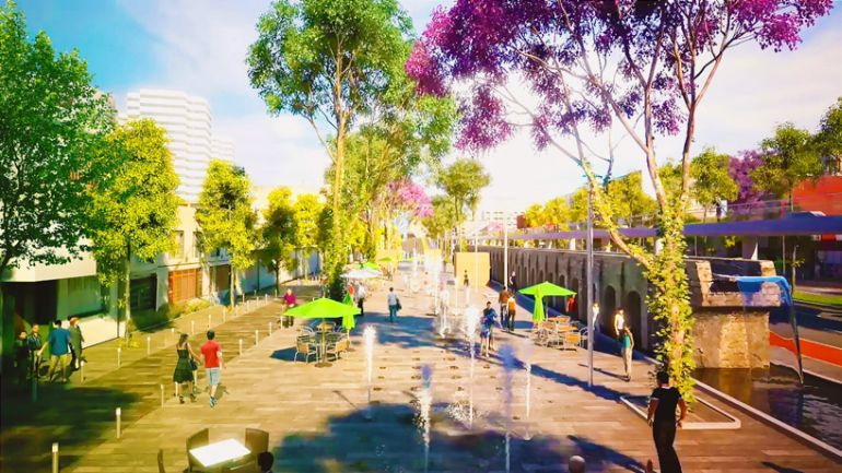 Architects To Jointly Create A Scenic Public Park In Mexico City-3