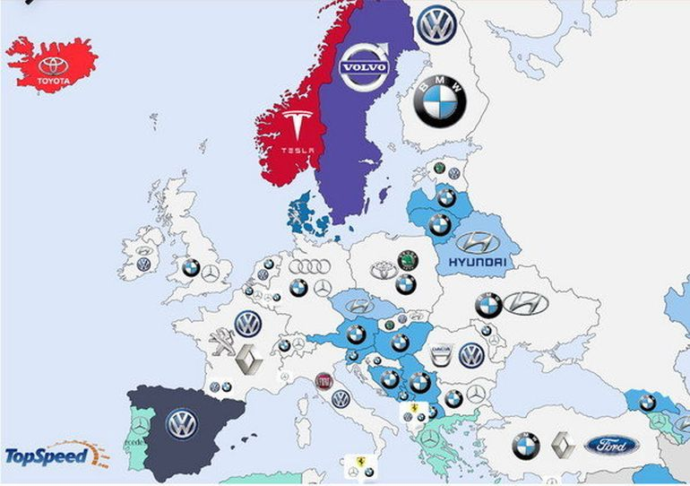Detailed Infographic Shows World's Most-Searched Carmakers-6