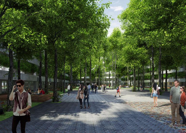 FPT University to Get Tree-Filled Campus In Ho Chi Minh City-10