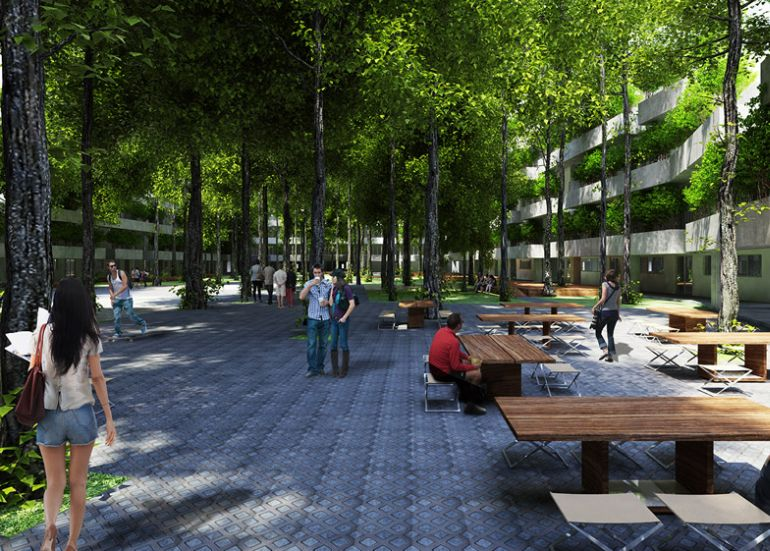 FPT University to Get Tree-Filled Campus In Ho Chi Minh City-11