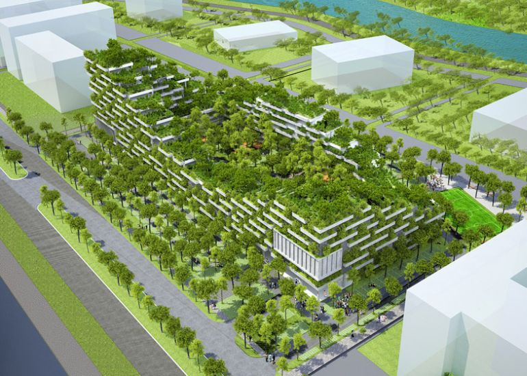 FPT University to Get Tree-Filled Campus In Ho Chi Minh City-3