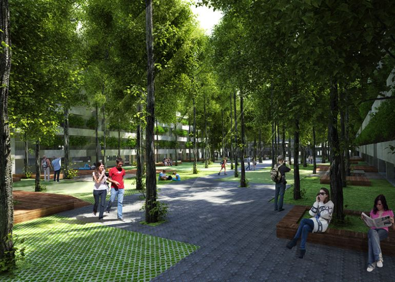 FPT University to Get Tree-Filled Campus In Ho Chi Minh City-8