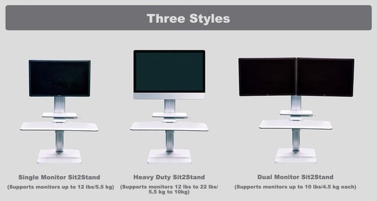 Forget Back Ache With The Sit2Stand Height Adjustable Desk-6