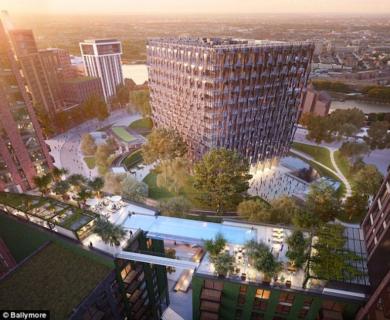 London To Get The World's First Glass-Encased Sky Pool-1