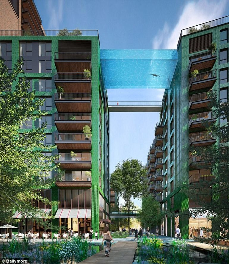 London To Get The World's First Glass-Encased Sky Pool-2