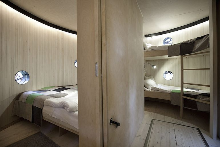 Swedish Hotel Features Bird's Nest And UFO-Shaped Cabins-9