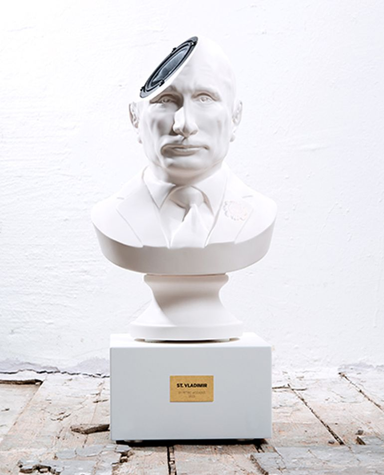 Amazing Bust Speaker Lets You Play Music From Putin's Head-5