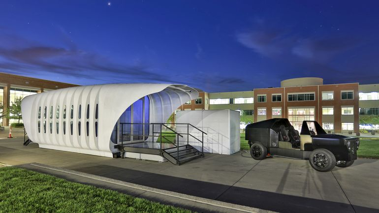 AMIE A 3D-Printed House That Runs On A Car-Based Generator-7