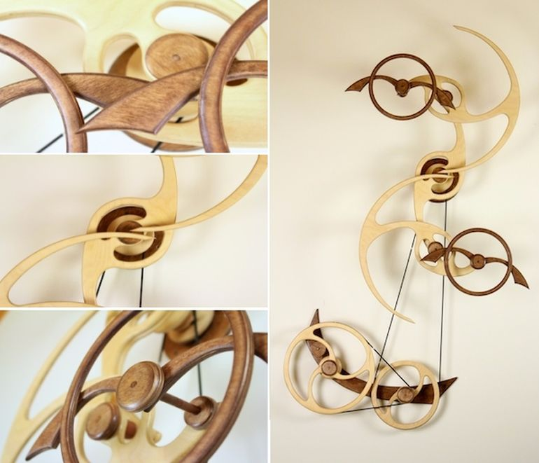 Amazing Kinetic Sculptures Run 24 Hours On A Single Wind-2