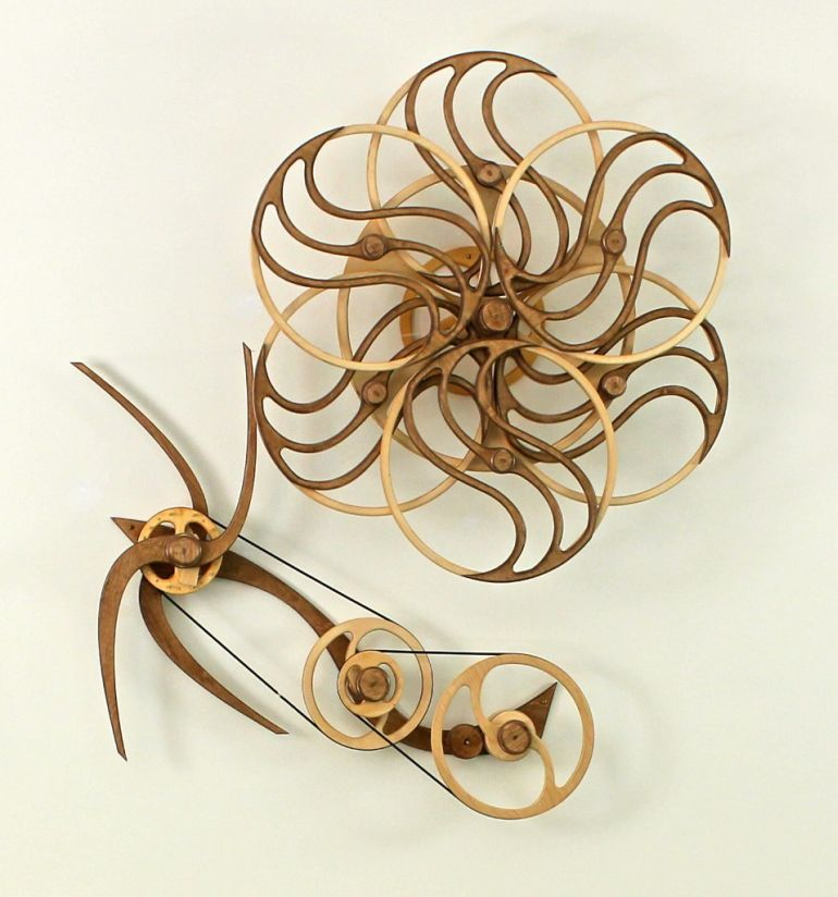 Amazing Kinetic Sculptures Run 24 Hours On A Single Wind-5
