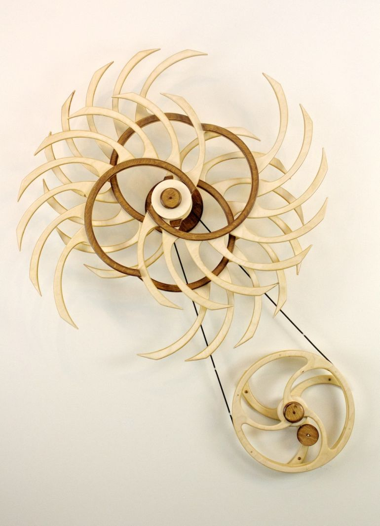 Amazing Kinetic Sculptures Run 24 Hours On A Single Wind-6