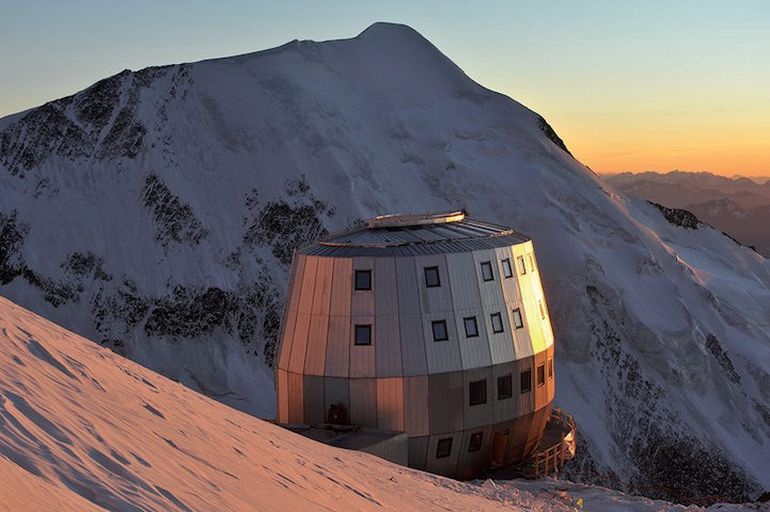At The Top Of Mont Blanc Sits the Futuristic Refuge du Goûter-2