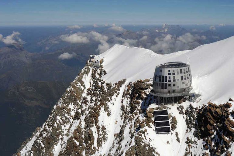 At The Top Of Mont Blanc Sits the Futuristic Refuge du Goûter-3
