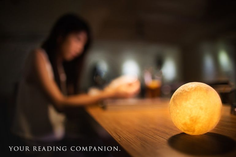 Bask In The Mesmeric Glow Of The Moon-Shaped Luna Lamps-2