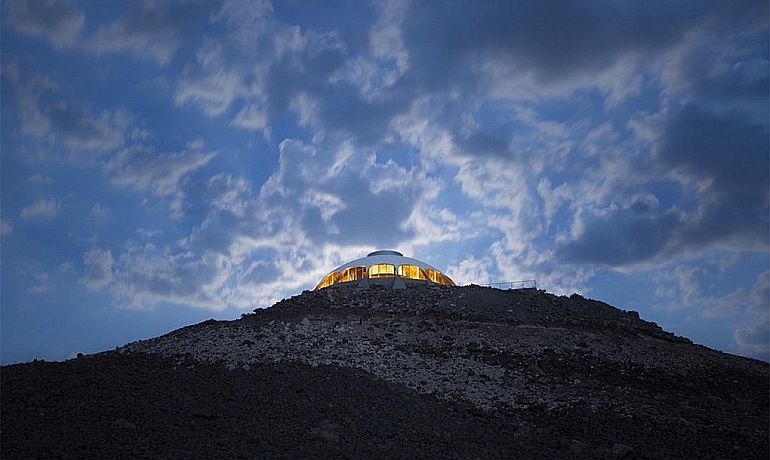 California's Volcano House Looks Eerily Similar To A UFO-2