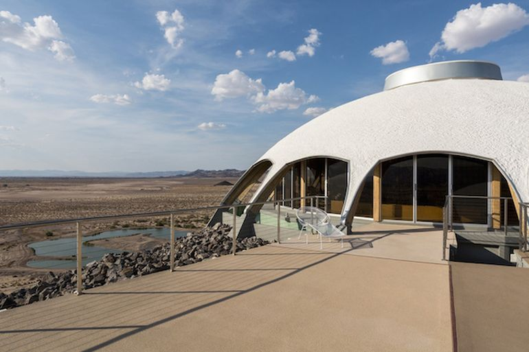 California's Volcano House Looks Eerily Similar To A UFO-4